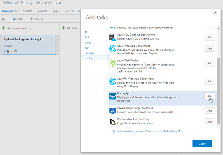 2016-07-12 16_46_13-Deploy to HockeyApp - Visual Studio Team Services